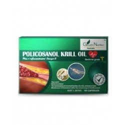 Goodlife Nutrition-Policosanol Krill Oil 60 Capsules