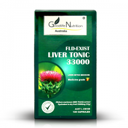 Goodlife Nutrition-FLD - Exist Liver Tonic 33000 120 Capsules