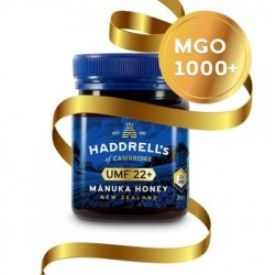 Haddrell's-UMF 22+ Manuka Honey 250g (MGO 1000+)