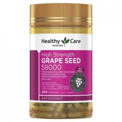 Healthy Care-High Strength Grape Seed 58000mg 200 Capsules