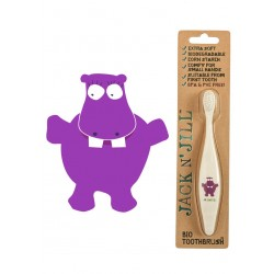 Jack N Jill Bio Toothbrush Hippo - 1