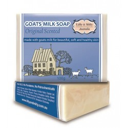 Lilly & Milly-Goats Milk Soap Original Scented 100g