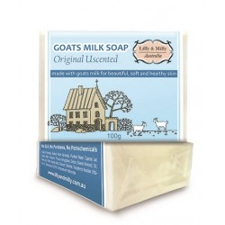 Lilly & Milly-Goats Milk Soap Original Unscented 100g