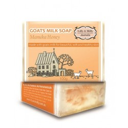 Lilly & Milly-Goats Milk Soap With Manuka Honey 100g