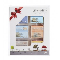 Lilly & Milly-Goats Milk Soap Gift Set 6 Pack