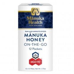 Manuka Health-Manuka Honey MGO 115+ On-The-Go 12 Packets