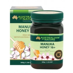 Australian by Nature-Bee Active Manuka Honey 16+ (MGO 600) 500g