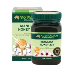Australian by Nature-Bee Active Manuka Honey 20+ (MGO 800) 500g