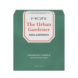 MOR-Basil & Geranium Scented Home Library Fragrant Candle 250g