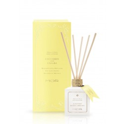 MOR-Cucumber and Casaba Scented Home Library Reed Diffuser 180ml