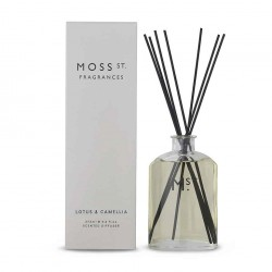 Moss St. Fragrances-Lotus & Camellia Scented Diffuser 275ml