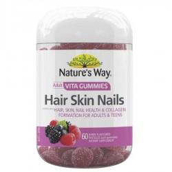 Nature's Way-Adult Vita Gummies Hair Skin Nails 60 Pastilles