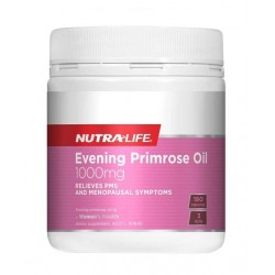 Nutralife-Evening Primrose Oil 180 Capsules