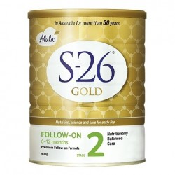 S26-Stage 2 Gold Progress Baby Follow-On Formula From 6-12 Months 900g
