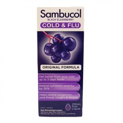 Sambucol-Black Elderberry Cold & Flu Oral Liquid 250ml