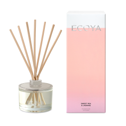 Ecoya-Sweet Pea & Jasmine Fragranced Diffuser 200ml