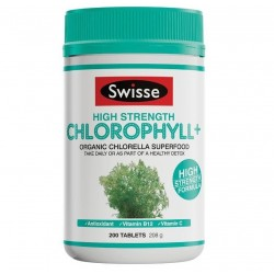 Swisse-Chlorophyll+ High Strength 200 Tablets