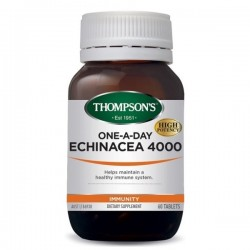 Thompson's-One-A-Day Echinacea 4000mg 60 capsules