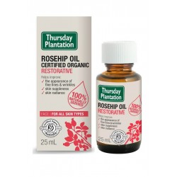 Thursday Plantation-Certified Organic Rosehip Oil Restorative 25ml (Last Chance: Discontinued)
