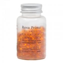 Unichi-Rosa Prima Rose Oil Complex 90 Softgels