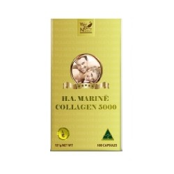 Well Being Nutrition-HA Marine Collagen 5000 100 Capsules