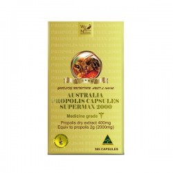 Well Being Nutrition-Propolis Super Max 2000mg 365 Capsules