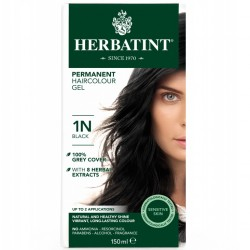 Herbatint-Permanent Haircolour Gel 1N Black 150ml