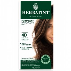 Herbatint-Permanent Haircolour Gel 4D Golden Chestnut 150ml