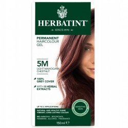 Herbatint-Permanent Haircolour Gel 5M Light Mahogany Chestnut 150ml