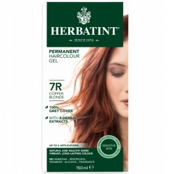 Herbatint-Permanent Haircolour Gel 7R Copper Blonde 150ml