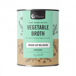 Nutra Organics-Vegetable Broth Immune Gut Wellbeing Garden Veggie 125g