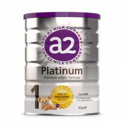 A2 Milk-Stage 1 Platinum Premium Infant Formula 0-6 Months 900g