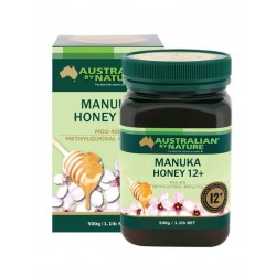Australian by Nature-Bee Active Manuka Honey 12+ (MGO 400) 500g