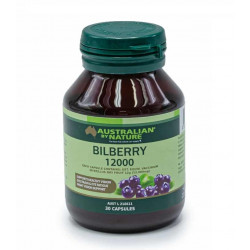 Australian By Nature-Bilberry 12000 30 Capsules