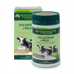 Australian by Nature-Colostrum & Milk 250 Chewable Tablets