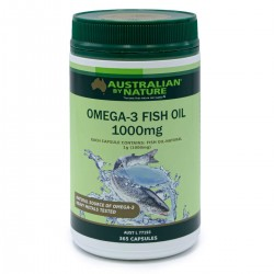 Australian by Nature-Omega-3 Fish Oil 1000mg 365 Capsules