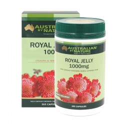 Australian by Nature-Royal Jelly 1000mg 365 Capsules