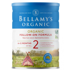 Bellamy-Step 2 Organic Follow On Formula 900g