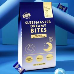 Bio E-Sleepmaster Dreamy Bites Banana Flavour 60 x 2g Sachets (EXP: 02/22)