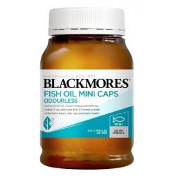 Blackmores-Odourless Fish Oil Mini Caps 400 Capsules xMINI