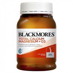 Blackmores-Total Calcium Magnesium + D3 200 Tablets