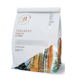 Botanical Path-Collagen Beauty Coffee Chocolate Caramel 18x12g Sachet 216g