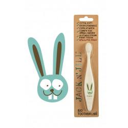 Jack N Jill-Bio Toothbrush Bunny