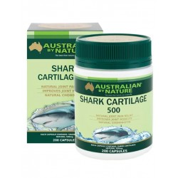 Australian by Nature-Shark Cartilage 500mg 200 Capsules