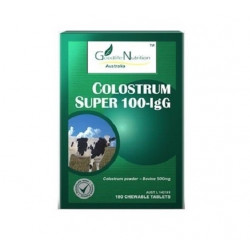 Goodlife Nutrition-Super Colostrum IgG 100 180 Chewable Tablets