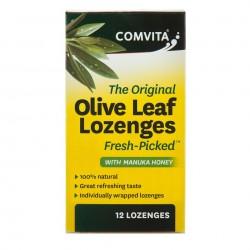 Comvita-Olive Leaf Lozenges 12 Lozenges