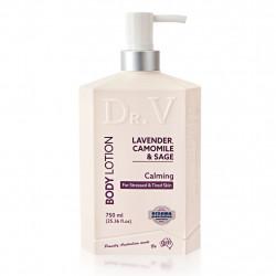 G&M-Dr. V Lavender, Chamomile & Sage Calming Body Lotion 750ml