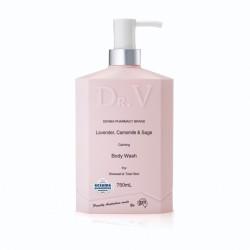 G&M-Dr. V Lavender, Chamomile & Sage Calming Body Wash 750ml
