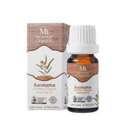 Mt Retour-Eucalyptus Essential Oil Certified Organic 10ml