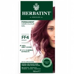 Herbatint-Permanent Haircolour Gel FF4 Violet 150ml
